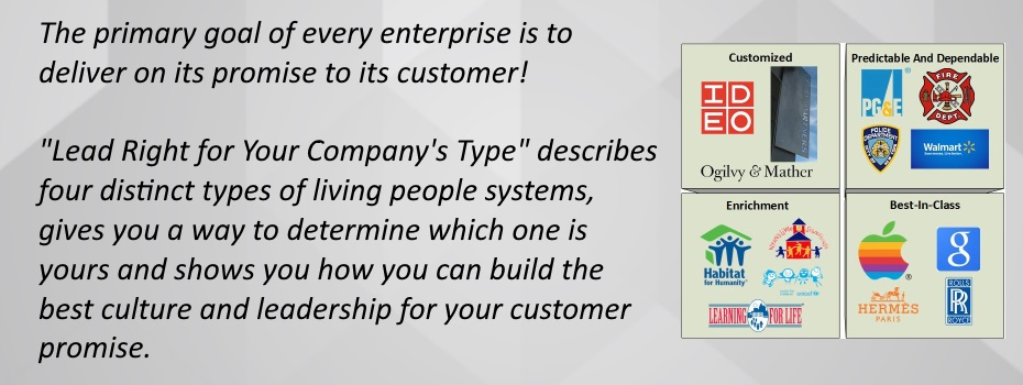 <blockquote><h3>The primary goal of every enterprise is to deliver on its promise to its customer!</h3>